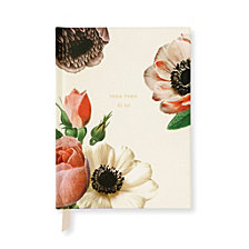 Kate Spade New York Bridal Gift Log, Blushing Floral