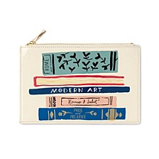 New York Pencil Pouch, Stack Of Classics