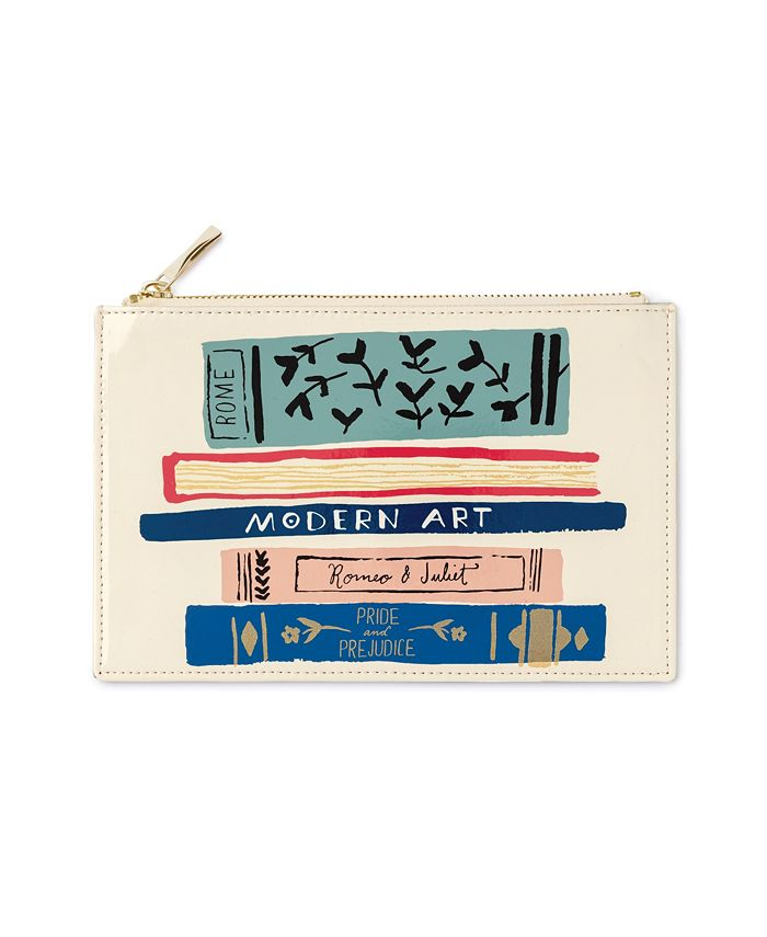 Kate Spade - KSNY Pencil Pouch Stack Of Classics