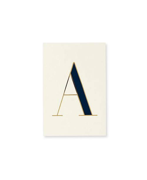 Kate Spade New York It's Personal Initial Collection Notepad, A