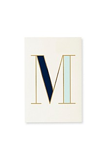 It's Personal Initial Collection Notepad, M