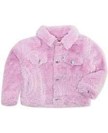 Baby Boys and Girls Faux-Sherpa Trucker Jacket