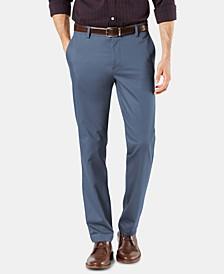 Men's Signature Lux Cotton Slim Fit Stretch Khaki Pants