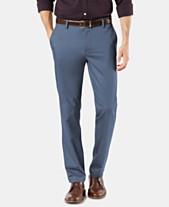 73d0a138b Dockers Men s Signature Lux Cotton Slim Fit Stretch Khaki Pants