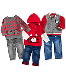 First Impressions Baby Boys Holiday Bear Mix & Match Separates, Created for Macy's