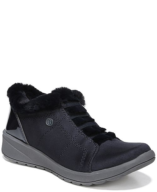 133d191d2f Bzees Golden Fur Trim Slip On Sneakers   Reviews - Home - Macy s