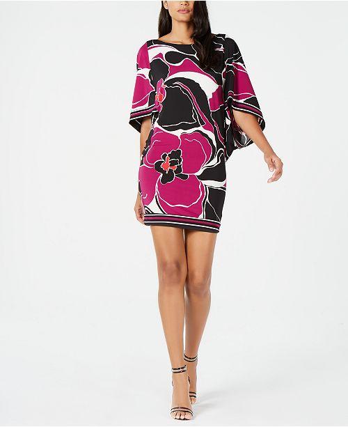 bd0310f547b Trina Turk Casablanca Floral-Print Boat-Neck Dress   Reviews ...