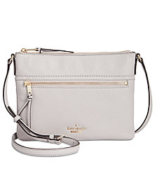 kate spade new york Jackson Street Gabriele Pebble Leather Crossbody