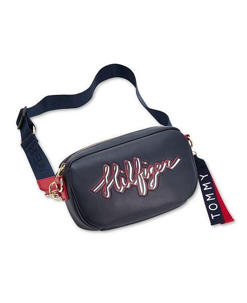 dc708731 Tommy Hilfiger Tashia Convertible Belt Bag & Reviews - Handbags ...