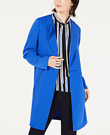 Bar III Crepe Topper Jacket, Created for Macy's