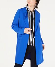 Bar III Crepe Topper Jacket, Created for Macy's