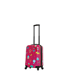 Mia Toro Italy Mistico Hardside Spinner Luggage Carry-On