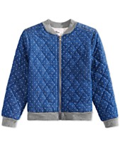 ecacaa31170f Epic Threads Big Girls Dot-Print Bomber Jacket