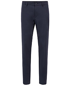 BOSS Men's Slim-Fit Stretch Trousers