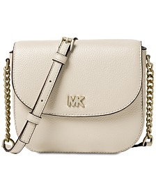 MICHAEL Michael Kors Pebble Leather Half Dome Crossbody