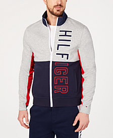 Tommy Hilfiger Men's James Full-Zip Sweater