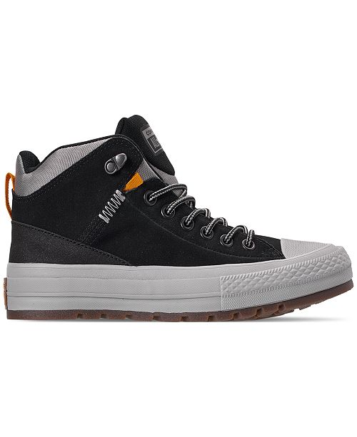 976dc24a76ef ... Converse Men s Chuck Taylor All Star Street Boot Casual Sneakers from  Finish ...
