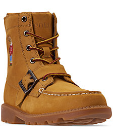 Polo Ralph Lauren Boys' Ranger High II Bear Boots from Finish Line