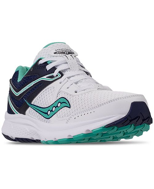 249d7854 Saucony Women's Cohesion 11 Running Sneakers from Finish Line ...