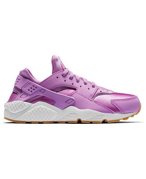 Nike Women s Air Huarache Run Running Sneakers from Finish Line ... 43cb75ded