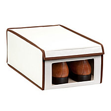 Honey Can Do Shoe Storage Box with Window