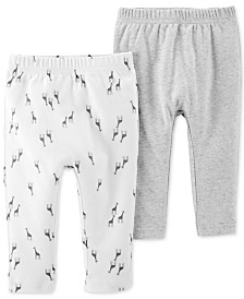 Carter's Baby Boys & Girls 2-Pk. Cotton Pants