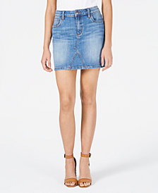 STS Blue A-Line Mini Jean Skirt