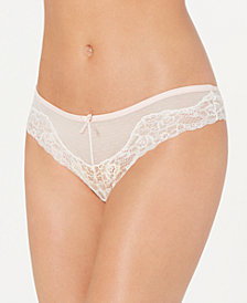 Maidenform Women's Comfort Devotion Mesh & Lace Tanga DMCCLT