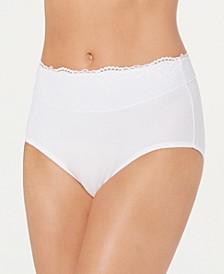 Women's Passion For Comfort Lace-Waist Brief Underwear DFPC61