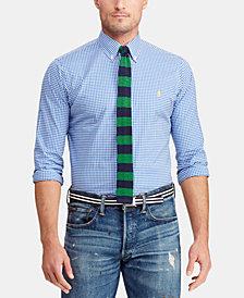 Polo Ralph Lauren Men's Slim Fit Gingham Shirt