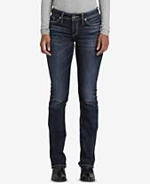 fb7ec6a5 Elyse Slim-Leg Bootcut Jeans