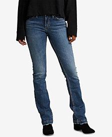 Silver Jeans Co. Elyse Slim-Leg Bootcut Jeans