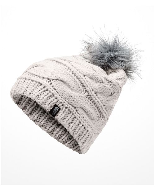 263d086e18f064 The North Face Triple Cable Pom Pom Hat & Reviews - Women's Brands ...