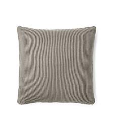 Flora Rib-Knit Throw Decorative Pillow