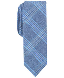 Penguin Men's Cameron Plaid Skinny Tie