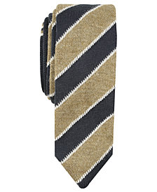 Original Penguin Men's MacDonald Skinny Stripe Knit Tie
