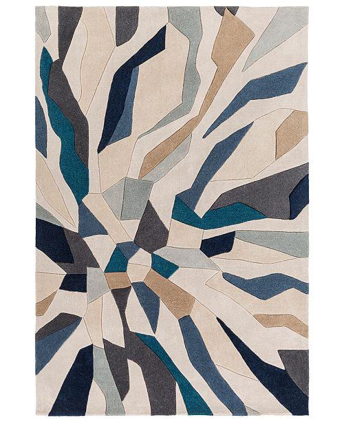 Surya Cosmopolitan COS-9278 Bright Blue 8' x 11' Area Rug