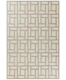 "Libby Langdon Soho Brick By Brick 2'3"" x 7'6"" Runner Area Rug"