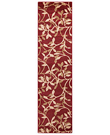 "Surya Riley RLY-5011 Tan 3' x 7'2"" Runner Area Rug"