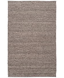 Tahoe TAH-3702 Charcoal 5' x 8' Area Rug