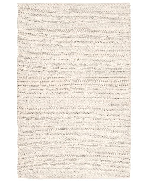 Surya Tahoe TAH-3703 White 5' x 8' Area Rug