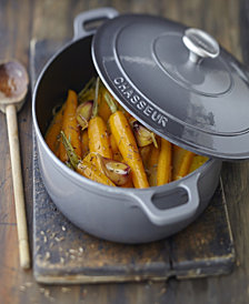 Chasseur French Enameled Cast Iron 3.25 Qt. Round Dutch Oven