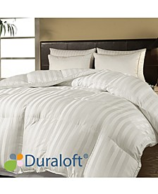 500 Thread Count Damask Stripe Duraloft® Down Alternative Twin Comforter