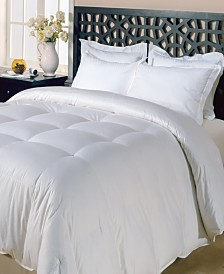 Blue Ridge 240 Thread Count Cotton White Goose Feather Down Maximum Warmth Comforter Collection