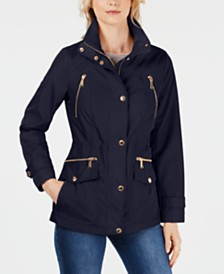 MICHAEL Michael Kors Hooded Anorak Jacket