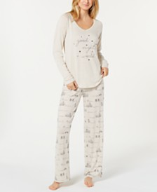 Jenni Pajama Separates, Created for Macy's