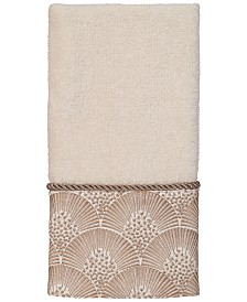 Avanti Deco Shells Fingertip Towel