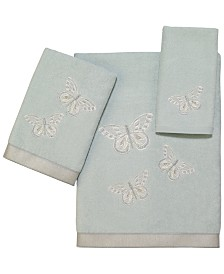 Avanti Butterflies Bath Towel Collection