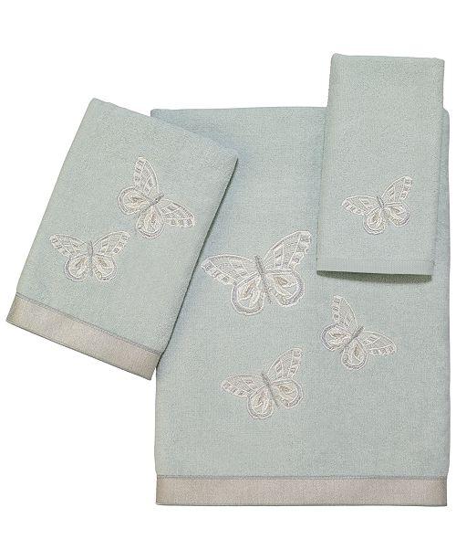 Avanti Butterflies Bath Towel Collection