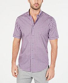Tasso Elba Men's Ora Printed Shirt, Created for Macy's